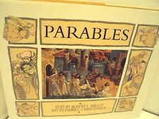 Parables by James C. Christensen (1999, Hardcover) LDS, MORMON BOOKS