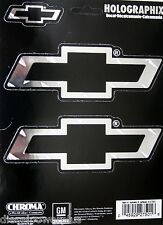 chevy chevrolet truck car chrome bow tie decal sticker emblem window diamond gm