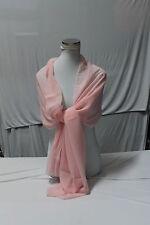 Estola Bufanda Pañuelo ROSA CUARZO rosa Color moda 2 x 0.7 mt