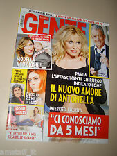GENTE 2016/5=ANTONELLA CLERICI=POOH=BROOKE SHIELDS=KELLY BROOK=DANIEL ANGELI=