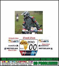 kit adesivi stickers compatibili  gs trophy tabelle 2010 africa