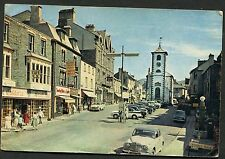 View of the Main Street, Keswick, People & Cars. Posted 1965