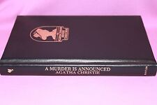 THE AGATHA CHRISTIE MYSTERY COLLECTION ( A MURDER IS ANNOUNCED ) READ DISCRP