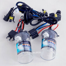 2PC Car HID Headlight Light H4-2 6000K 35W Bulbs Lo-Xenon Hi-Halogen 12V #W01