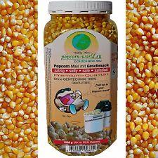 AIRPOP Popcorn Mais SALZIG f. Heissluft Popcorn Maschine Automat ohne Gentechnik