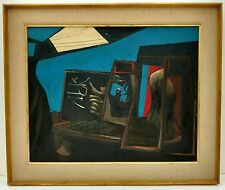 Lg 1954 John Hultberg NA California Abstract Painting Diebenkorn Rothko Student