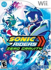 Sonic Riders: Zero Gravity (Wii) Choose One Of 18 Characters, Including Sonic!