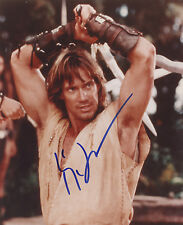 Xena photo photograph auto autographed signed Kevin Sorbo as Hercules sword COA