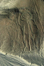Framed Print - Nazca Lines Peru Astronaut (Picture Poster Art Ancient Aliens)