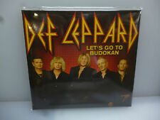 DEF LEPPARD-LET'S GO TO BUDOKAN. TOKYO, JAPAN 2015.-2CD DIGIPACK-NEW SEALED.