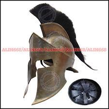 Mittelalter 300 König Leonidas Helm Ritterhelm Königshelm Messingausführung
