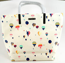 NEW Kate Spade New York Hot Air Balloon Get Carried Away Bon Shopper Tote Bag