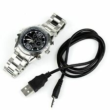 Mini 8GB DVR Waterproof HD 1080P Spy Hidden Watch Camera Night Vision Camcorder
