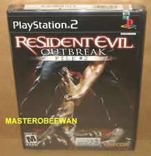 PS2 Resident Evil Outbreak File #2 Original 1st Print New Sealed