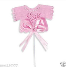 NEW Baby Shower BAPTISM Party Favors CRAFTS decorations SPANISH  12 PIECES girl