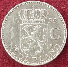 Netherlands 1 Gulden 1955 (C0610)