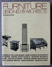 1980 FURNITURE DESIGNED BY ARCHITECTS Marian Page ARCHITECTURE First Printing