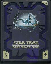 Star Trek Deep Space Nine Season 5 Hartbox Deutsche Ausgabe OOP DVD Halter 2 Tei