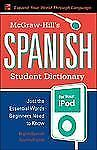 McGraw-Hill's Spanish Student Dictionary for your iPod (MP3 Disc + Guide) (Ty: S