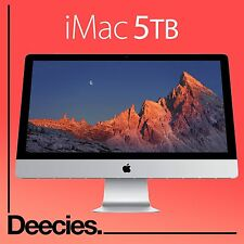 "NEW Apple Retina iMac 27"" 5k 4.0Ghz i7 SKYLAKE 32gb Ram EXCLUSIVE 5TB FUSION Mac"