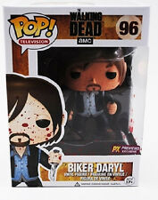 "FUNKO POP!_The Walking Dead_Bloody Biker DARYL 3.75 "" Vinyl figure_Exclusive_MIB"
