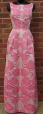 Temperley London Women Long Tula Jacquard Sleeveless Dress Size 10        . #6