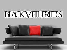 "BLACK VEIL BRIDES BORDERLESS MOSAIC TILE WALL POSTER 59"" x 8"" Andy Biersack"