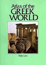 Atlas of the Greek World by Peter Levi hcj ~ 87 maps 316 photos ANCIENT GREECE