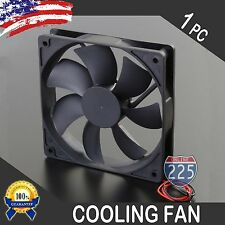 """6"""" Square Cooling Fan 12 Volt Rotary 1"""" depth Amplifier Computer Electronics CPU"""