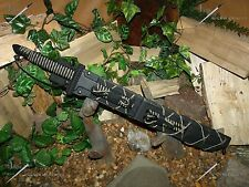 Sword/M48 Tanto Knife/Harpoon/Spear/Bracelet/Zombie/Paracord survival kit/CAMO