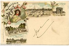 SOUVENIR DE PARIS. MEMORIES OF PARIS.
