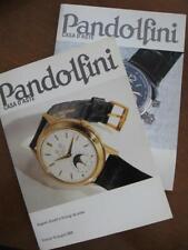 PANDOLFINI Catalogo CASA D'ASTE 2005/2006 2 Libretti Orologi e gioielli