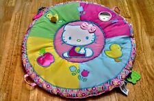 ~ Hello Kitty On-the-Go Tummy Time Infant and/or Toddler Play Mat~ EUC