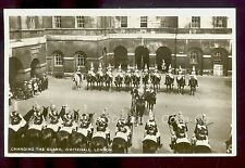 1928 RPPC Changing of the Guard Whitehall London Real Photo Postcard  B1525