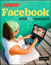 AARP Facebook SIGNED Author Marsha Collier For Dummies Seniors Tech to Connect