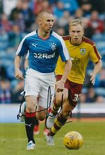 RANGERS HAND SIGNED KENNY MILLER 12X8 PHOTO PROOF 7.