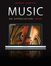 5-CD set for Music: An Appreciation, Brief Edition by Kamien, Roger