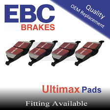 EBC UltiMAX Rear Brake Pads for DODGE (USA) Ram Pick-Up (1500) (4WD) , 2006-2011