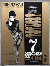 Magazine LE FILM FRANCAIS 7 Hommes en or ROSSANA PODESTA  1966*