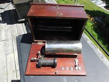 1920's MEDICAL ELECTRICITY AT HOME QUACK MEDICINE ELECTROCUTION KIT MENOMINEE MI
