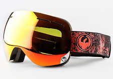 NEW Dragon X1S Goggles-Energy Scarlet-Red Ion+Yellow Blue-SAME DAY SHIPPING!