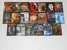 20 DVD LOT OF HORROR  MOVIES