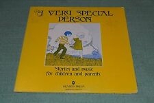 A Very Special Person~Stories and Music For Children and Parents~FAST SHIPPING