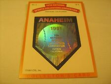 HOCKEY Card 12th National Sports Collectors Convention 1991 ANAHEIM [b5b3]
