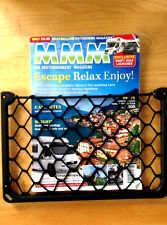 2 x STRONG STORAGE Mesh NETS Motorhome/Caravan/VW Campervan/Boat Magazine holder
