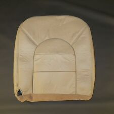 2000 Ford F 250 Crew Cab LARIAT Driver side Bottom Leather seat cover TAN