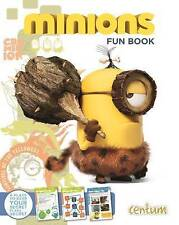 Minions: Fun Book by Centum Books (Hardback, 2015) Includes Stickers Quizzes