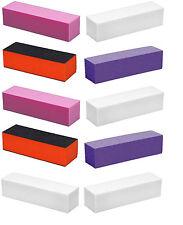 20x  Buffing Blocks Block Sanding Buffers Nail Art File Manicure 3 Grit Sides