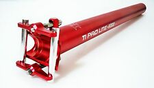 KCNC Ti Pro Lite Road Mountain Bike Scandium Seatpost Post 31.6mm 400mm Red