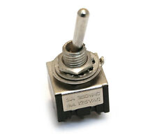 RP191N Nickel Retro Parts Mini Toggle Switch On-On For Guitar/Bass